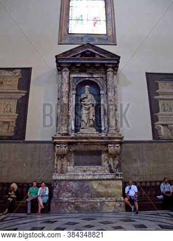 Florence, Italy - 13 Jul 2011: Santa Maria Del Fiore - Florence Cathedral, Italy
