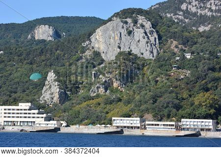View Of The Outskirts Of Yalta, Crimea