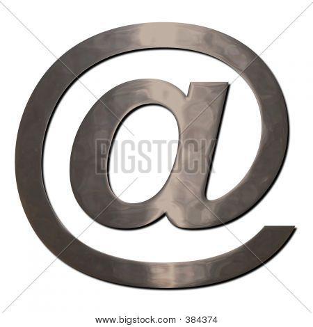 @ Chrome Email Symbol