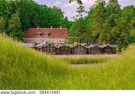Araisi Lake Dwelling Site (lake Fortress), Latvia