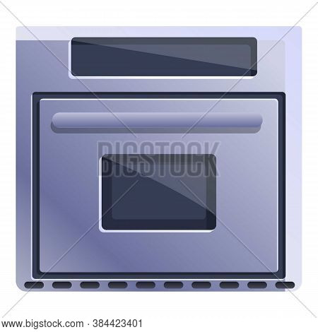 Kitchen Convection Oven Icon. Cartoon Of Kitchen Convection Oven Vector Icon For Web Design Isolated
