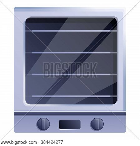 Cooker Convection Oven Icon. Cartoon Of Cooker Convection Oven Vector Icon For Web Design Isolated O