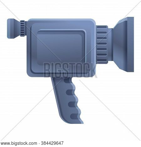 Handle Camcorder Icon. Cartoon Of Handle Camcorder Vector Icon For Web Design Isolated On White Back