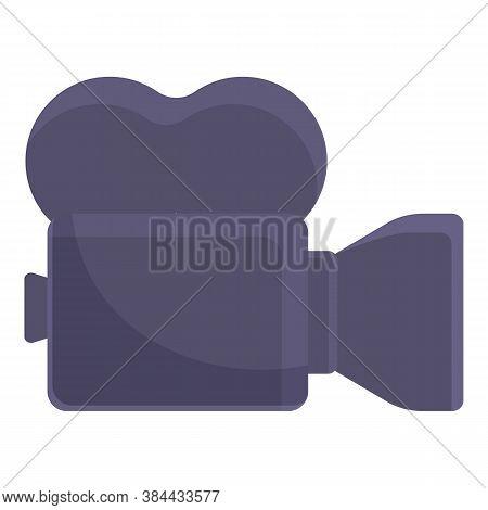 Video Editing Cinema Camera Icon. Cartoon Of Video Editing Cinema Camera Vector Icon For Web Design