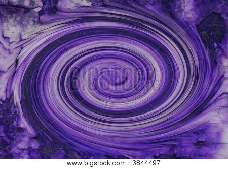 Remolino rápido púrpura