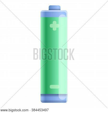 Full Capacity Battery Icon. Cartoon Of Full Capacity Battery Vector Icon For Web Design Isolated On
