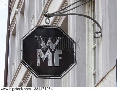 Wmf Cookware Shop Sign In Trier, Rhineland-palatinate, Germany - September 1, 2020