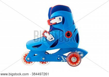 Roller Skates Isolated On A White Background