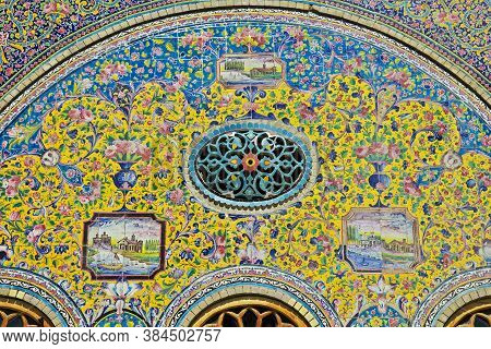 Tehran / Iran - 28 Sep 2012: Golestan Palace In Tehran City, Iran