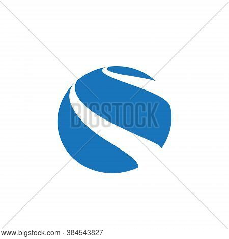 Globe Logo 3d Earth Planet Travel Abstract Business Internet Web Network International Communication