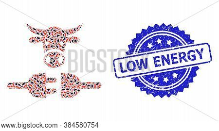 Low Energy Unclean Seal Imitation And Vector Recursion Collage Farm Power Supply. Blue Stamp Seal Co