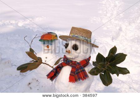 Father & Son Snowmen