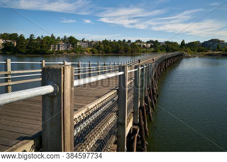 Galloping Goose Trail Bridge Victoria. The Galloping Goose Trail Is A 55 Kilometer Multi Use Trail B