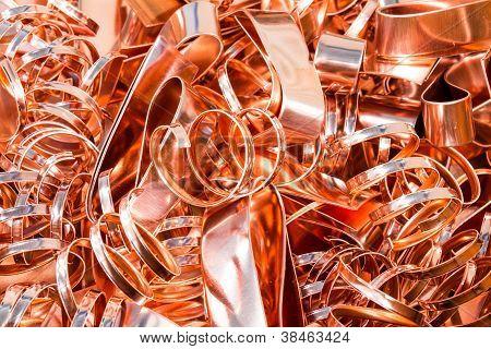 Scrapheap Of Copper Foil (sheet)