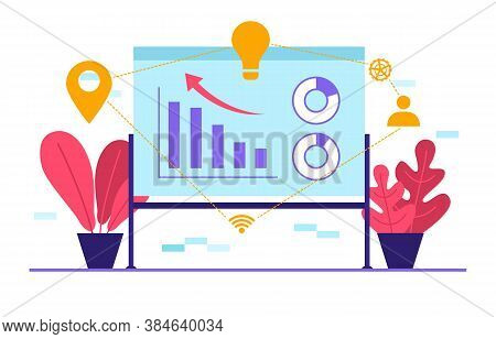 Digital Marketing Commerce Mobile Internet Web Promotion Analysis Illustration
