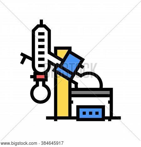 Vacuum Evaporator Color Icon Vector. Vacuum Evaporator Sign. Isolated Symbol Illustration