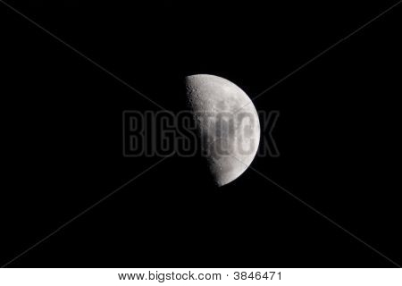 Half Moon With Room For Text