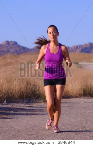 Asian Femal Runner