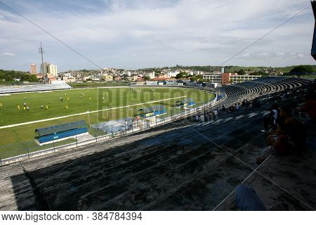 Itabuna, Bahia / Brazil - January 5, 2012: View Of Estadio Luiz Viana Filho In The City Of Itabuna.