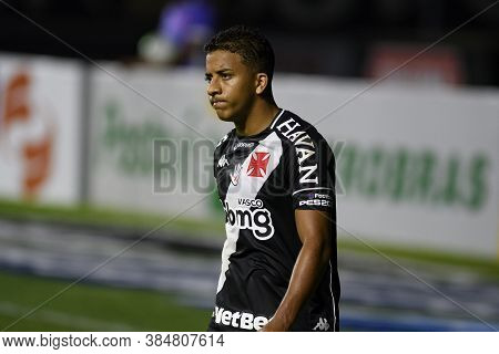 Rio, Brazil - September 10, 2020: Vinicius Player In Match Between Vasco 1 And 2 Atletico-go By Braz