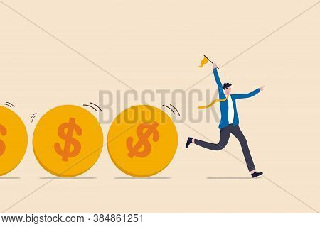 Cash Flow, Investment Fund Flow, Fund Raising, Bank Loan Or Financial Activity To Making Money Or Pr