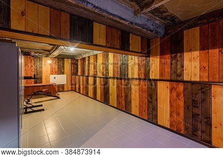 Russia, Moscow- February 15, 2020: Interior Room Apartment Modern Bright Cozy Atmosphere. General Cl