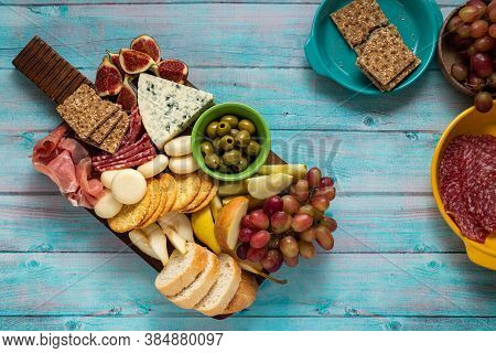 Charcuterie Autumn Fruits Of Season Table Delicatessen