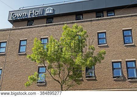 Weston-super-mare, Uk - June 7, 2016: Weston-super-mare Town Hall, The Headquarters Of North Somerse