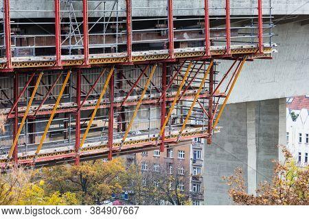 building old facade renovation, repair