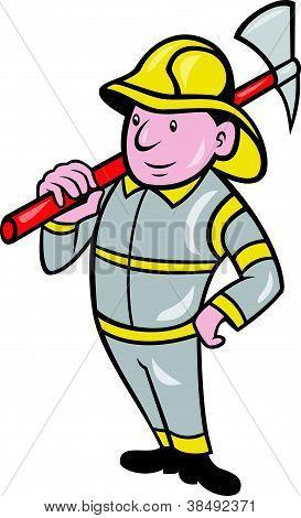 Fireman Firefighter Emergency Worker