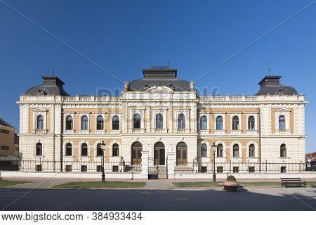 The Building Of Orthodox Seminary Religion School As Education Institution In Sremski Karlovci In Se