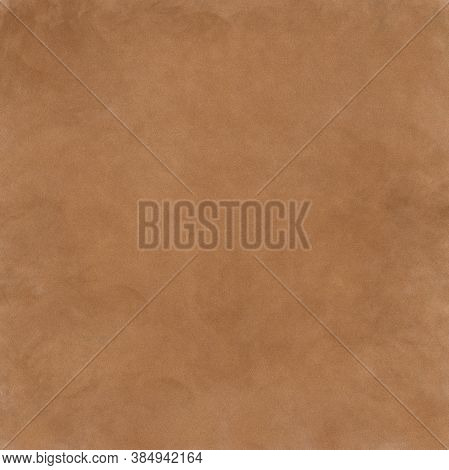 Abstract Brown Stained Paper Texture Background Or Backdrop. Empty Brown Paperboard Or Grainy Cardbo