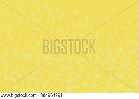 Abstract Yellow Blurred Background With Spots, Patchy
