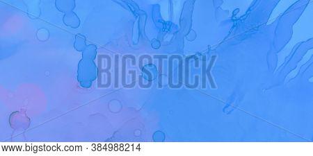 Pastel Fluid Splash. Gradient Ink Stains Marble. Pink Pastel Fluid Design. Blue Pastel Flow Liquid.
