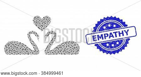 Empathy Unclean Seal Imitation And Vector Recursion Mosaic Love Swans. Blue Seal Includes Empathy Te
