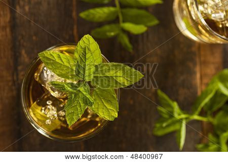 Homemade Gourmet Mint Julep