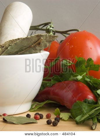 Chiili, Tomatoes & Spices Iii