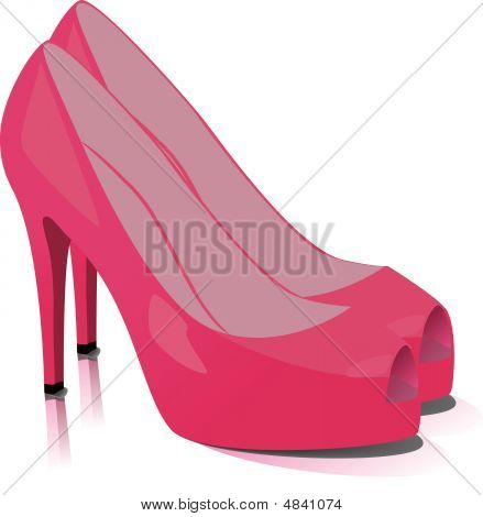 Shoes. Vector Illustration