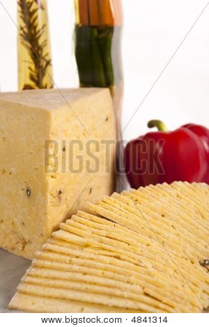 Middle Eastern Cheese Parmesan. Also Known As Romy Or Romi.
