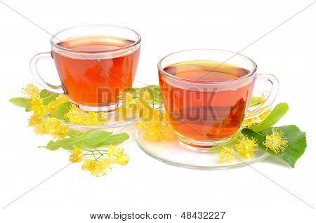 Linden Tea In Cups