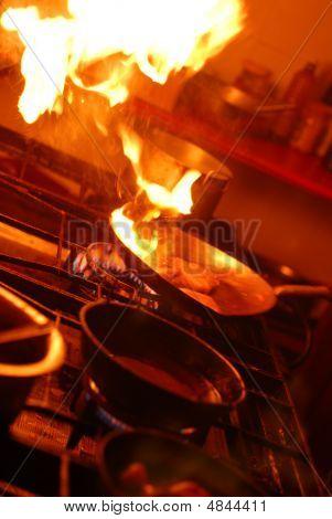 Kitchen Flambe