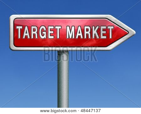 target market business targetting for niche marketing strategy