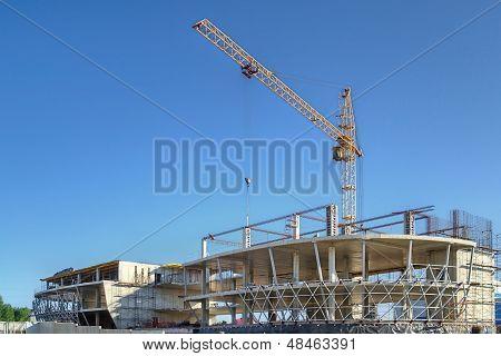 The Construction Of Technopark In Koltsovo Town