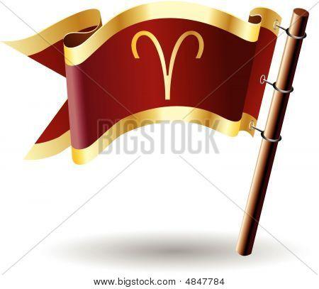 Royal-flag-astrology-sign-aries