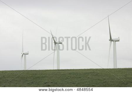 Three Wind Turbines - More In Portfolio