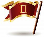 Royal-flag-astrology-sign-gemini