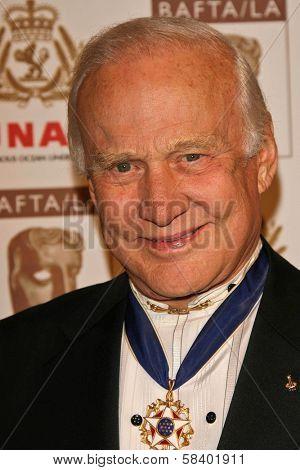 LOS ANGELES - NOVEMBER 2: Buzz Aldrin at the 2005 BAFTA/LA Cunard Britannia Awards at Hyatt Regency Century Plaza Hotel on November 2, 2006 in Century City, CA.