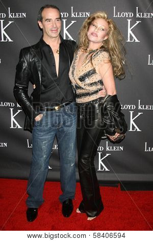 LOS ANGELES - NOVEMBER 14: Lloyd Klein and Jocelyn Wildenstein at the opening party for the Lloyd Klein Flagship Store at Lloyd Klein Flagship Store on November 14, 2006 in Los Angeles, CA.