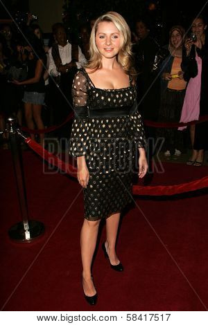 BEVERLY HILLS - NOVEMBER 29: Beverley Mitchell at the