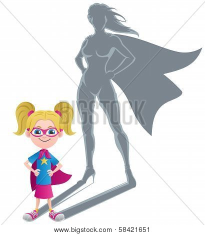 Girl Superheroine Concept